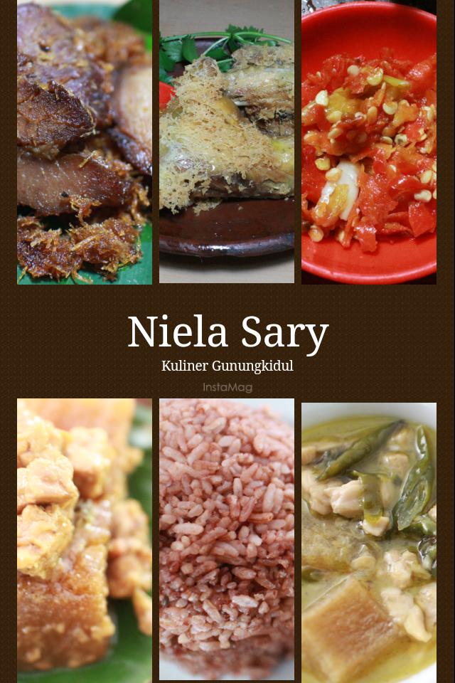 Rm Niela Sary Masakan Khas Gunungkidul Wisata Kuliner